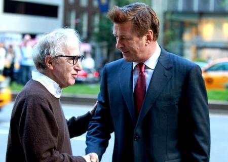 Alec Baldwin y Woody Allen