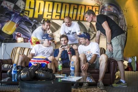 ¿Qué ocurre cuando juntas en un circuito a Loeb, Sainz, Webber y Coulthard?
