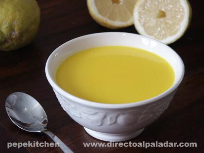 Avgolemono Sopa Griega De Limon