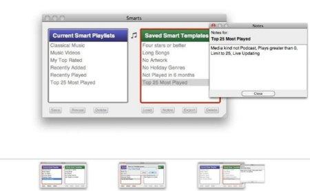 Smarts, gestiona mejor y más fácilmente tus listas inteligentes de iTunes