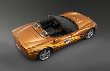 2007 Indianapolis 500 Pace Car Corvette Convertible