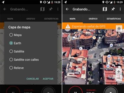 Google My Tracks para Android añade la capa Earth para disfrutar de sus mapas y edificios en 3D