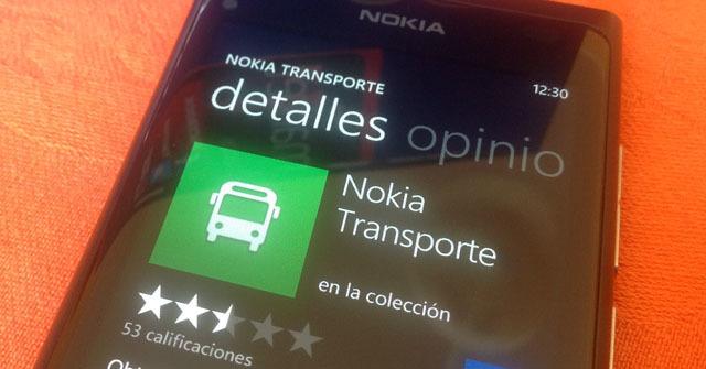 Nokia Collection Transporte