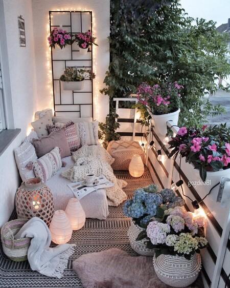 iluminacion de terraza y balcon