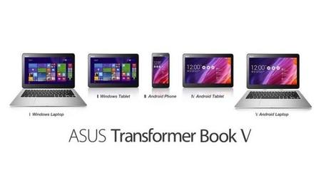 Modos posibles con Transformer Book V