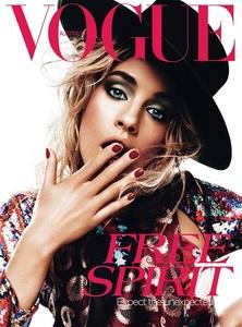 Enamorada del maquillaje de la nueva portada de Vogue Australia