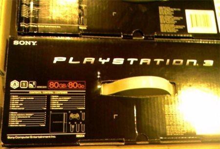 Primera imagen de la PS3 de 80GB