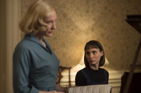 Cate Blanchett Y Rooney Mara En Carol Pelicula