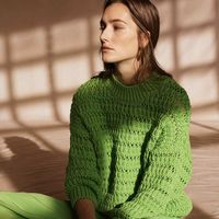 El color verde 'Rana Gustavo' es el favorito de la nueva colección de Mango (aunque cueste de creer)