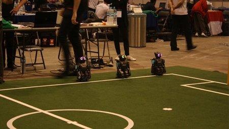 México campeón en el mundial de futbol de robots 2012
