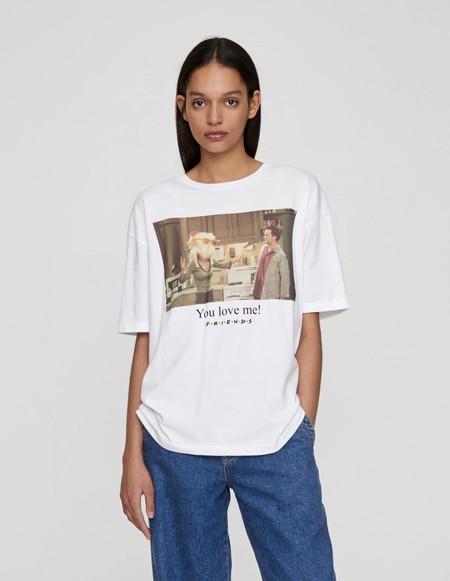 Pull Bear Camiseta Series Tv 04