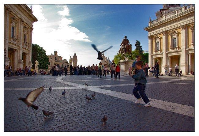 Italia-Roma-Campidoglio