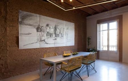 El apartamento Vessels, una estructura histórica combinada con elementos de diseño vanguardistas