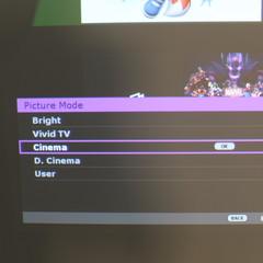 Foto 2 de 12 de la galería menu-proyector en Xataka Smart Home