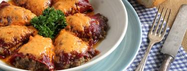 Pimientos rellenos de carne, mi receta preferida para alegrar una reunión familiar