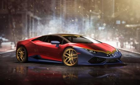 El Lamborghini Huracán de La Mujer Maravilla