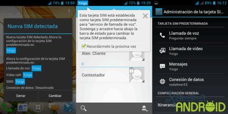 Android dual SIM