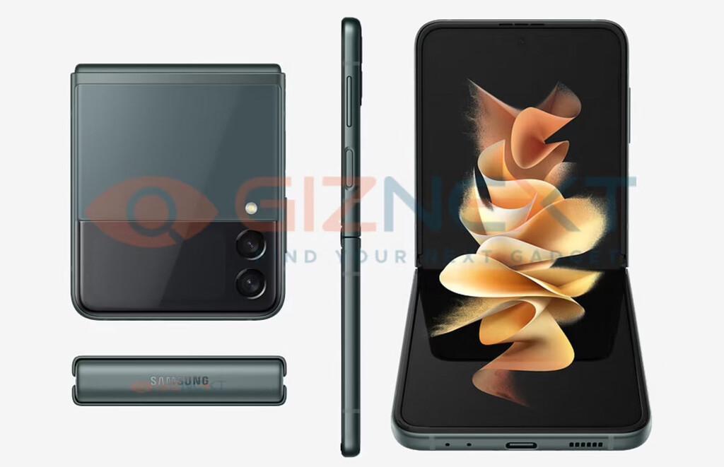 El Samsung Galaxy Z Flip 3 filtrado al detalle: imágenes, características y más