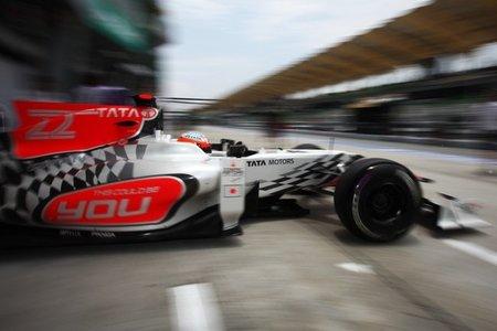 GP Malasia F1 2011: HRT consigue clasificarse en Sepang