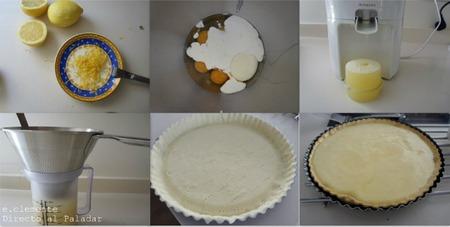 Paso a paso tarta con crema de limón