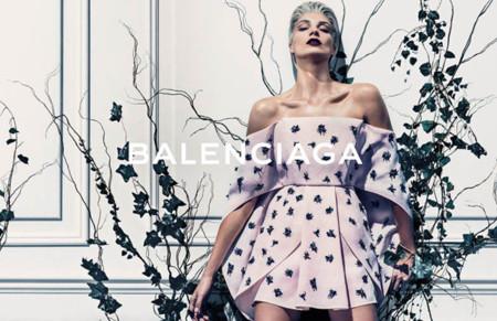 Balenciaga también se rinde a los encantos de Daria Werbowy
