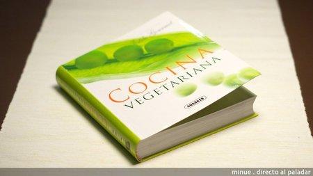 Libro de cocina vegetariana estilo gourmet