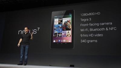 Nexus 7 tablet del año, algo está cambiando