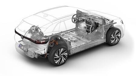 Volkswagen Id 4 Estructura 2
