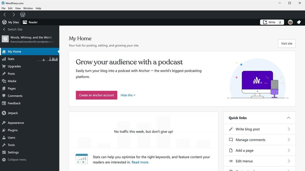 WordPress ya tiene su propia app para <strong>Windows℗</strong> 10 en la Tienda de Microsoft»>     </p> <p><a href=