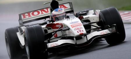 Button Hungria Formula 1 2006