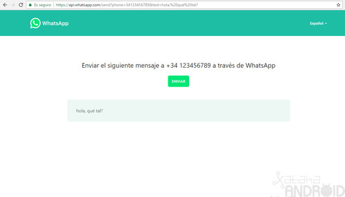 Así puedes compartir un número de WhatsApp y un mensaje a través de un enlace