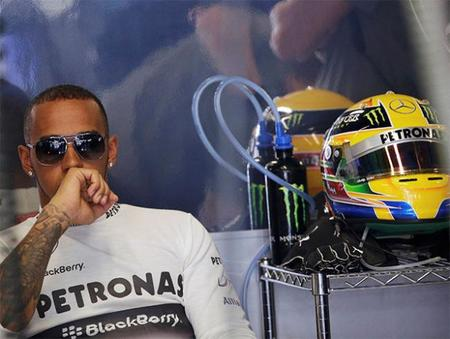 """Lewis Hamilton: """"Observo las imágenes y no me parece que Sebastian Vettel esté al límite"""""""