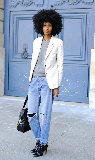 El estilo cool de Julia Sarr-Jamois