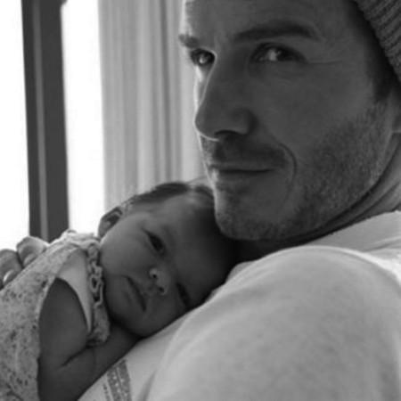 No eres un papá a lo David Beckham hasta que dejas que tu hija te diseñe un tatuaje