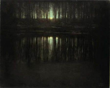 Pond-Moonlight