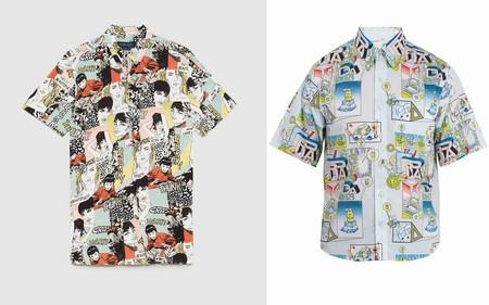 La Camisa Comic De Prada Es Ese Must Que No Sabias Que Necesitabas Gracias A Zara