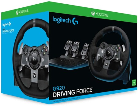 Volante Logitech Driving Force para Xbox One