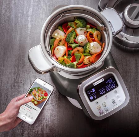 Robot De Cocina Moulinex I Companion Xl Hf906b10 Con 7 Accesorios
