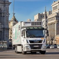 Así es el primer camión eléctrico de reparto de MAN: 26 toneladas de carga y 180 km de autonomía