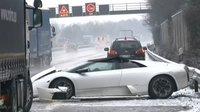 Dolorpasión™: Lamborghini Murciélago contra la nieve