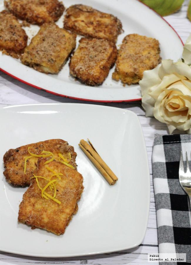 Receta tradicional de leche frita (con dos trucos para que te salga bien)