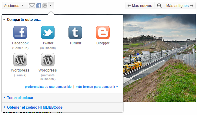 Flickr intercambio de fotos redes sociales