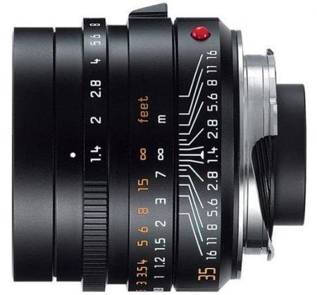 Leica hace oficial el Summilux-M 35mm F1.4