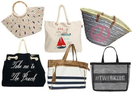 bolsos para ir a la playa
