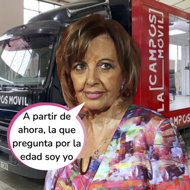 Salseo a bordo: María Teresa Campos tendrá su propio espacio de entrevistas en Mediaset... ¡En un camión!