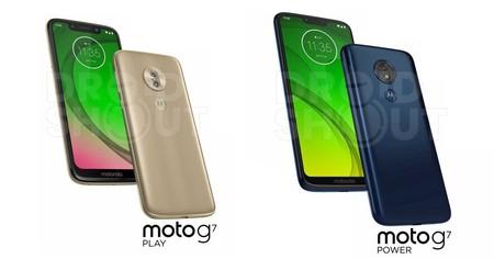 Moto G7 Play Power Render