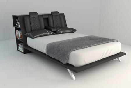 La cama que todo fanático de los autos sueña