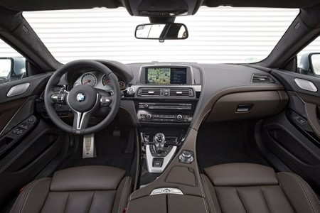 BMW M6 Gran Coupé Interior