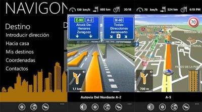 Navigon Europe llega a Windows Phone 7
