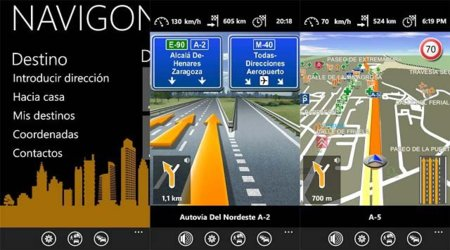 Navigon Europe llega a Windows Phone 7